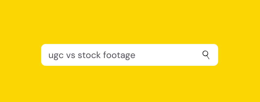 The UGC Advantage: Five Reasons to Stop Using Stock Footage