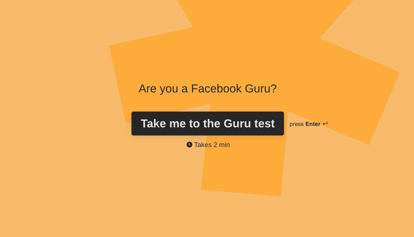 Are you a Facebook Guru?
